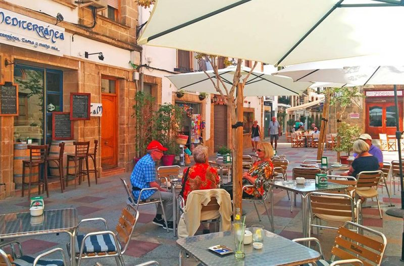 Photo Javea Old Town Plaza del Baix